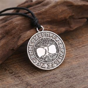 Jewelry - Norse Yggdrasil Tree of Life talisman necklace